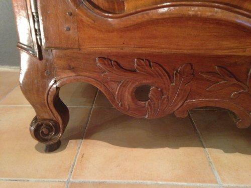 A 18th c. French Provencal walnut credenza -