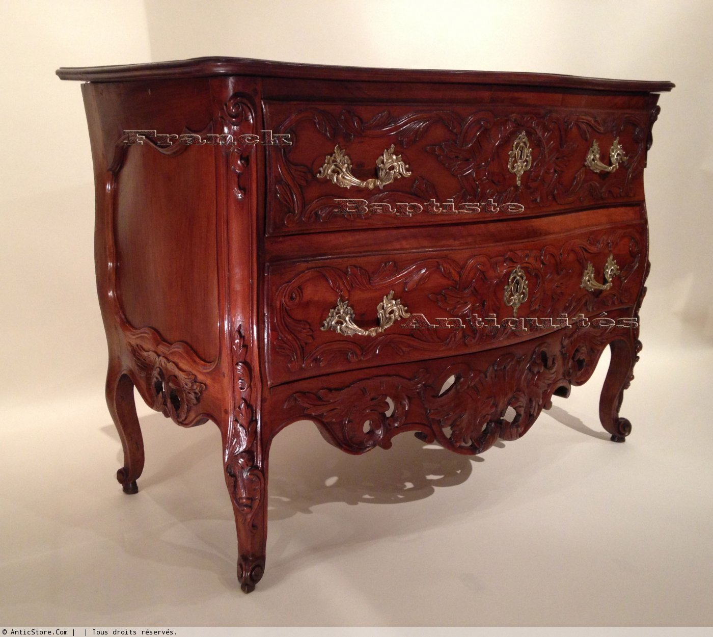 french provencal n moise louis xv commode. Black Bedroom Furniture Sets. Home Design Ideas