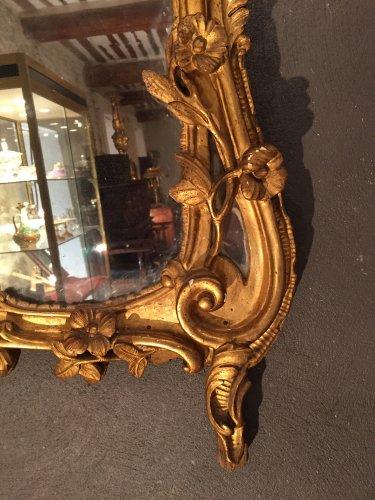 Louis XV - French fine provencal mirror 18th  (provence)