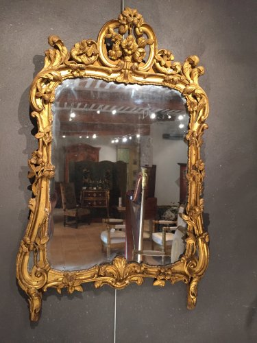 Antiquités - French fine provencal mirror 18th  (provence)