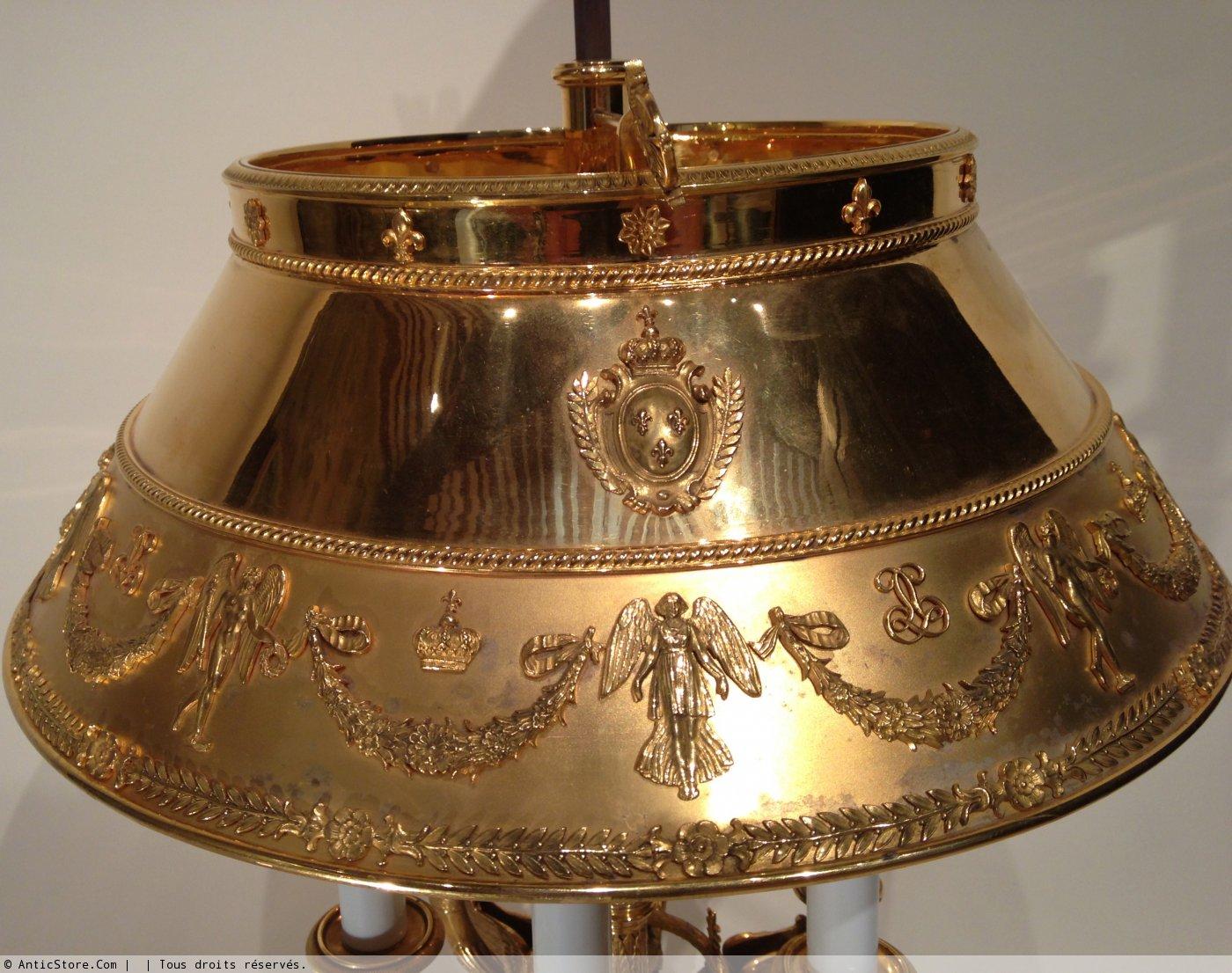 lampe de bureau napoleon