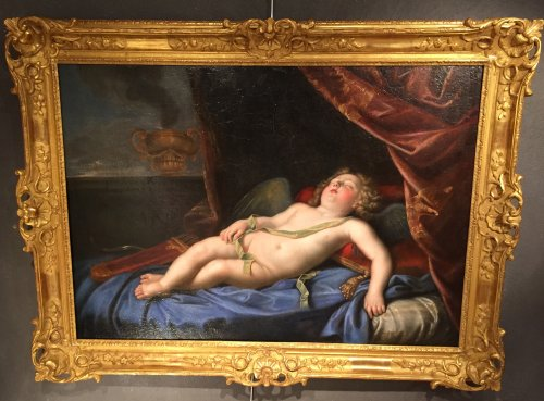 Paintings & Drawings  - Louis alexandre de bourbon asleep in the guise of cupid, atelier pierre mig