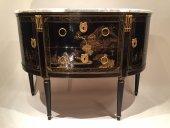 Commode au vernis martin, est kieschenbach, paris vers 1780