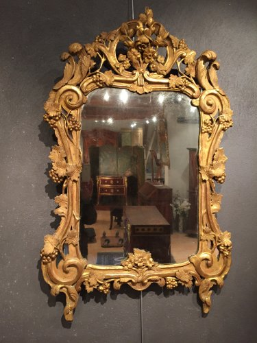 Fine French 18 th.c mirror, provence Louis XV period
