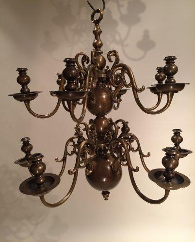 Dutch fine chandelier , 19th.c