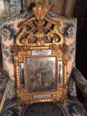 Small French Régence  mirror circa 1720