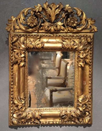 French Fine 17th c. Mirror , Aix en Provence Louis XIV Period