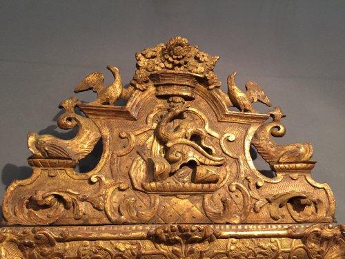 Mirrors, Trumeau  - French Fine 18th .c Mirror, Provence Louis XIV Period