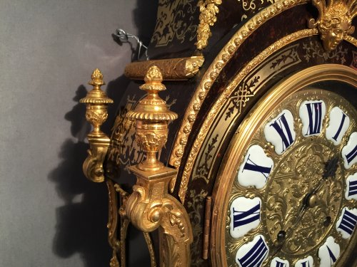 Clocks  - Monumental Louis XIV Cartel, Paris Circa 1710