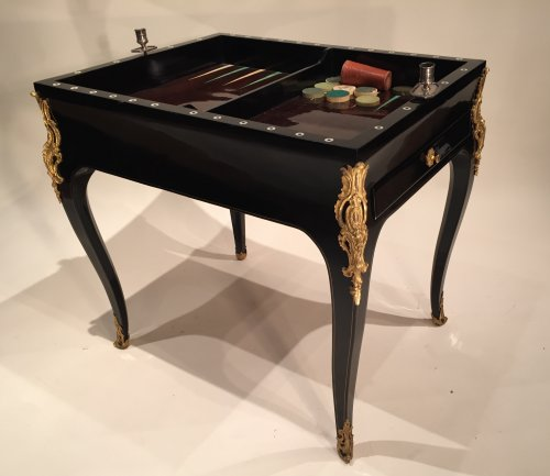 French Fine Game Table, Paris Louis XV Period -