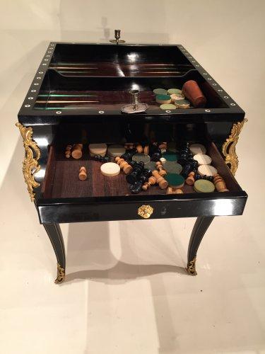 French Fine Game Table, Paris Louis XV Period - Louis XV