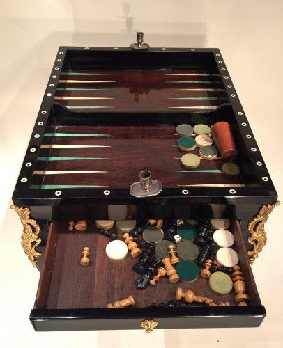Louis XV - French Fine Game Table, Paris Louis XV Period