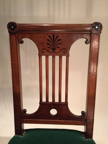 Antiquités - French Fine Consulat Set of Chairs, Paris by Jacob Desmalter
