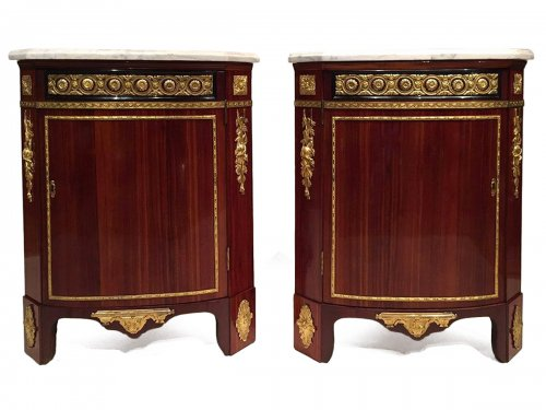 Pair of Corners By A.L Gilbert, Paris Louis XVI Period