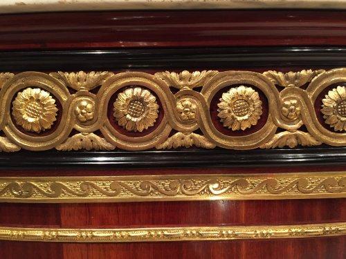 Furniture  - Pair of Corners By A.L Gilbert, Paris Louis XVI Period