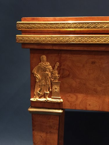 Game Table for the King of Rome to the Castle of Meudon, Paris around 1811. - Furniture Style Empire