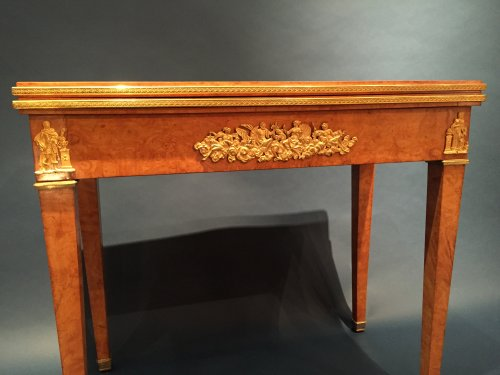 19th century - Game Table for the King of Rome to the Castle of Meudon, Paris around 1811.