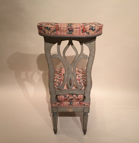 Antiquités - French fine voyeuse Chair , Jacob Model, Paris Louis XVI period circa 1790