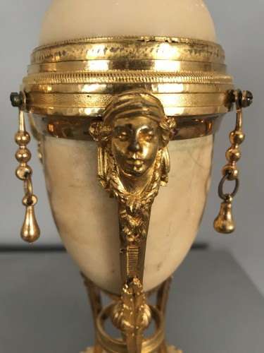 Lighting  - Pair of tripod flambeaux, Paris, Louis XVI period