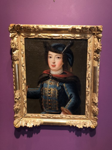 Portrait of Louis XV child in Russian costume, circa 1720 - Louis XV
