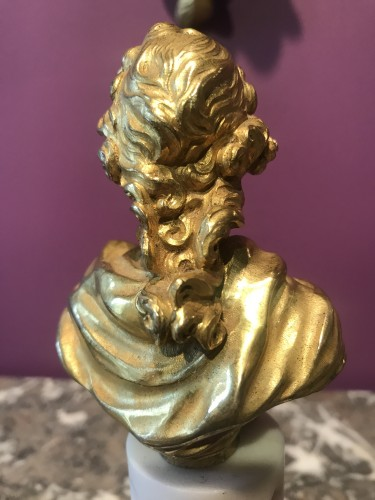 - Miniature bust of Louis XV, late 18th early 19th