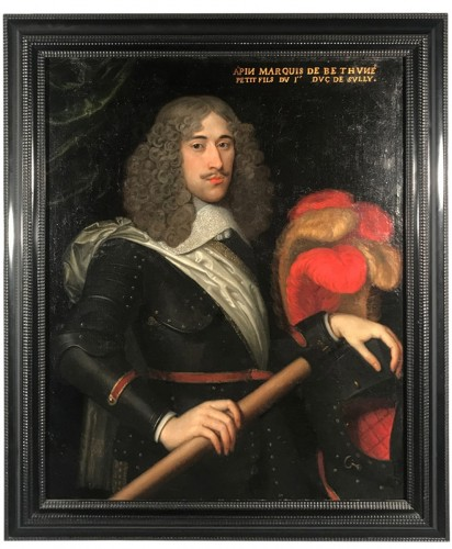 Portrait of the Marquis de Béthune, attributed to Louis Ferdinand Elle circa 1640