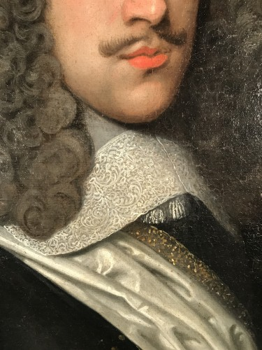 Portrait of the Marquis de Béthune, attributed to Louis Ferdinand Elle circa 1640 -