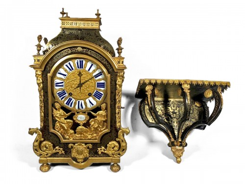 A French Louis XIV Boulle Cartel by Nicolas Gribelin