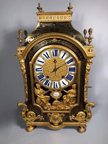 A French Louis XIV Boulle Cartel by Nicolas Gribelin - Clocks Style Louis XIV