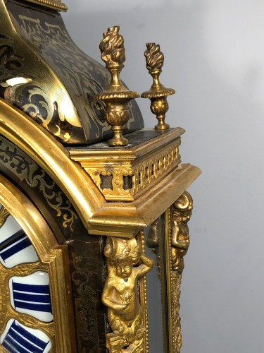 Clocks  - A French Louis XIV Boulle Cartel by Nicolas Gribelin
