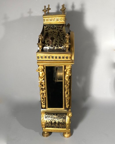 A French Louis XIV Boulle Cartel by Nicolas Gribelin -