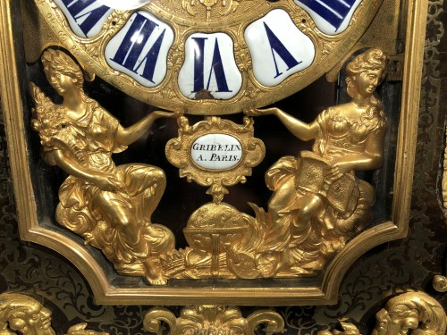 A French Louis XIV Boulle Cartel by Nicolas Gribelin - Louis XIV