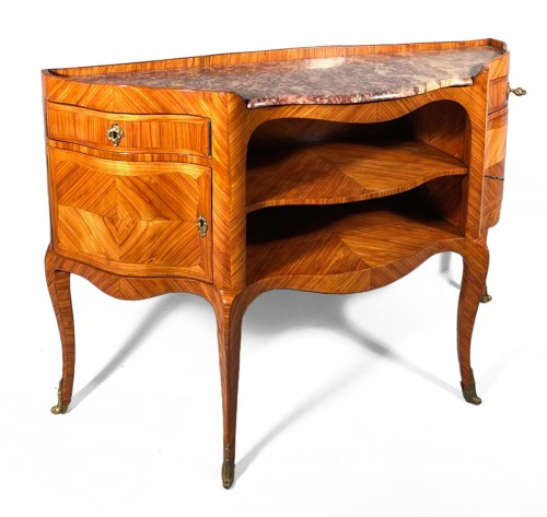 French Louis XV Console Table stamped by L.Dubois,, Paris circa 1760