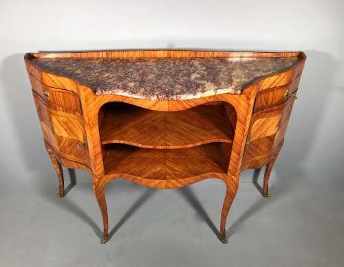 Furniture  - French Louis XV Console Table stamped by L.Dubois,, Paris circa 1760
