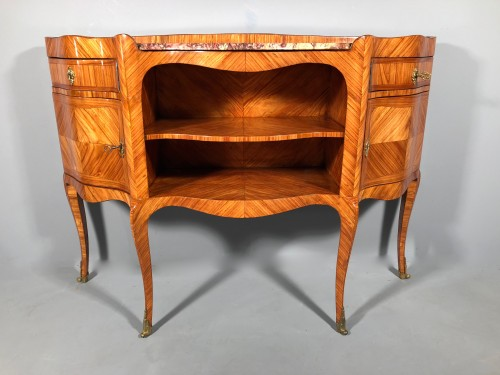 French Louis XV Console Table stamped by L.Dubois,, Paris circa 1760 -