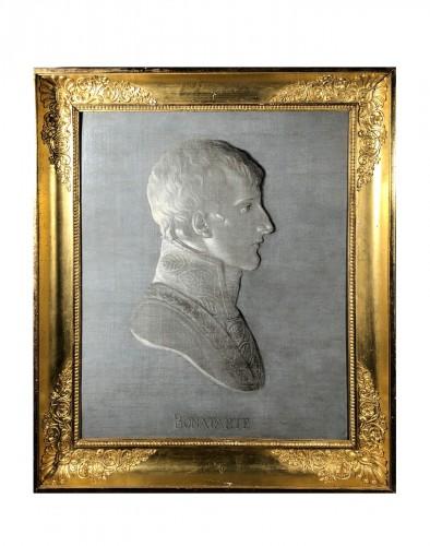 Portrait of Bonaparte - Piat-Joseph Sauvage circa 1800