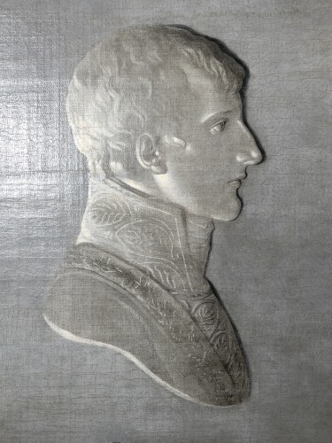Paintings & Drawings  - Portrait of Bonaparte - Piat-Joseph Sauvage circa 1800