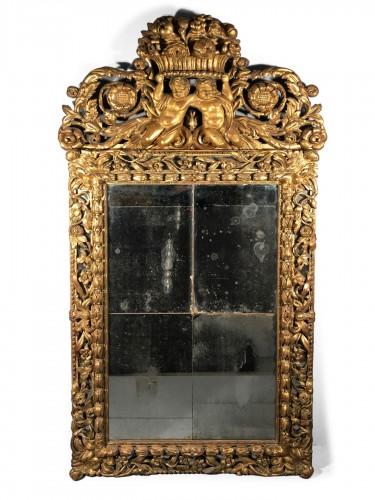 Important Italian mirror, Roma circa  1750