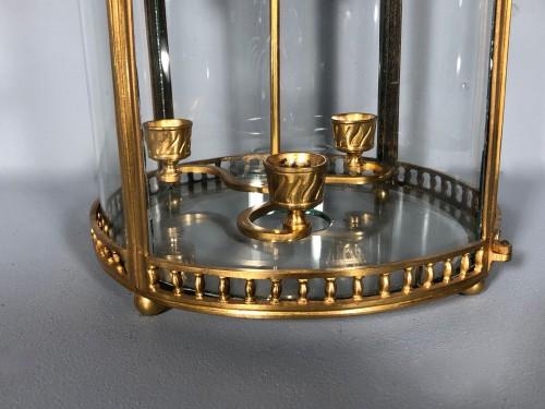 18th century - Alcove lantern in gilt bronze circa 1780