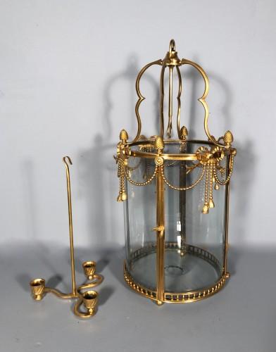 Alcove lantern in gilt bronze circa 1780 - Louis XVI