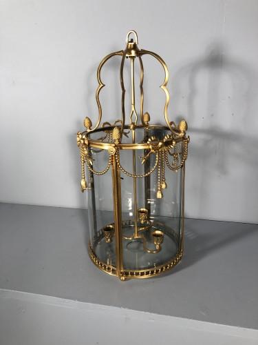Antiquités - Alcove lantern in gilt bronze circa 1780