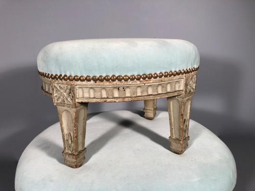 "Seating  - Pair of ""foot stools"", Pierre Pillot, Provence circa 1790"