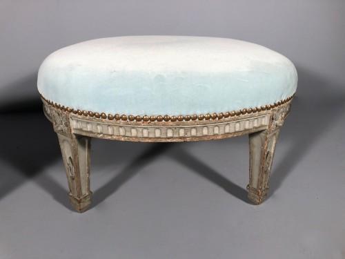 "Pair of ""foot stools"", Pierre Pillot, Provence circa 1790 - Louis XVI"
