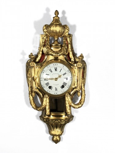 French fine ormolu cartel, Paris transition period circa 1775