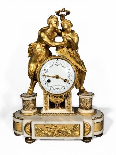 French fine clock , Paris circa 1790