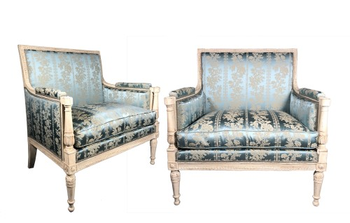 Pair of large marquises , Paris, Louis XVI period circa 1780