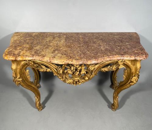 French fine console , Provence Louis XV  period circa 1770 - Louis XV
