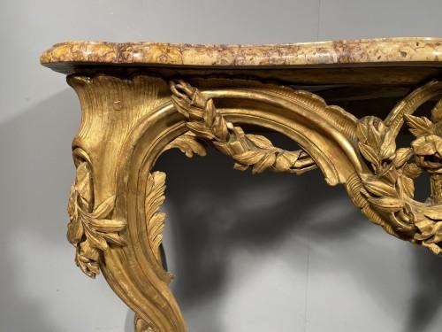 Louis XV - French fine console , Provence Louis XV  period circa 1770