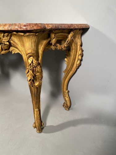 Antiquités - French fine console , Provence Louis XV  period circa 1770