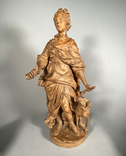 Louis XIV - Diane chasseresse, terracotta, French school late 18th